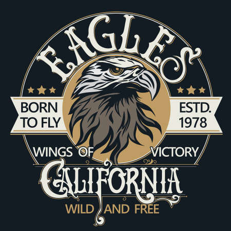 eagle: Eagle head logo vector