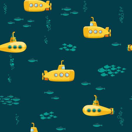 Yellow Submarine undersea