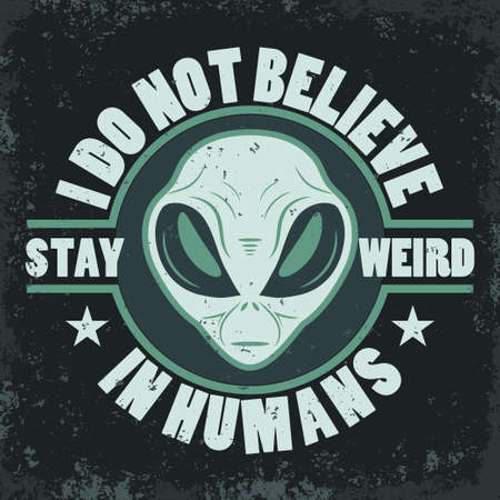 Alien face icon set, tête humanoïde, vecteur.