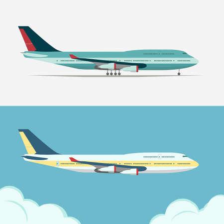 Airbus, Civil aviation plane vector Фото со стока - 81206707