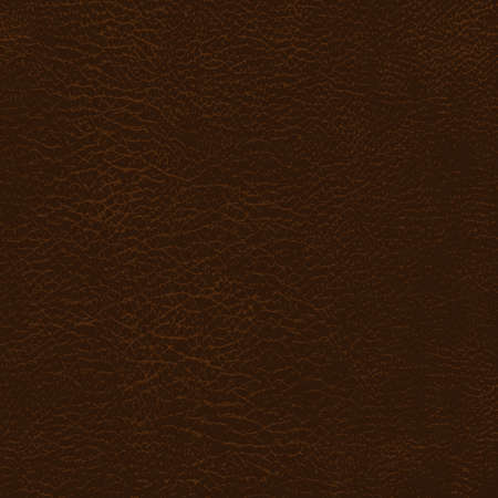 Leather texture background. Brown Natural Skin Detailed pattern. Vector