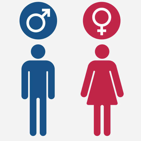 Male And Female Symbols Vector Royalty Free Cliparts Vectors And