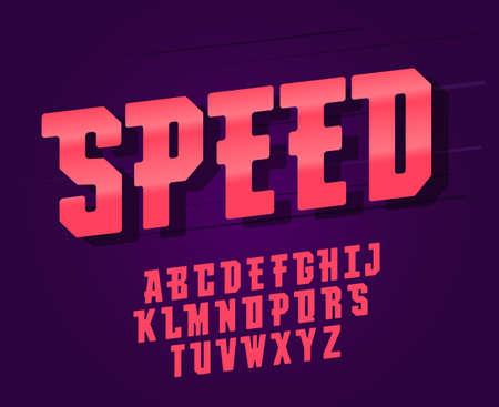 Modern elegant font and alphabet, abc typography design. vector
