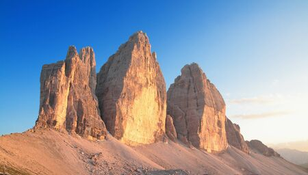 altitude: landscape on the italians alps