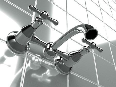 llave de agua: vendimia grifo