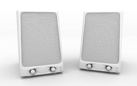 grayscale speakers