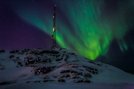 ionosphere: Greenlanic Northern lights