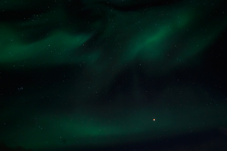 greenlandic: Greenlandic Northern lights, nearby Nuuk
