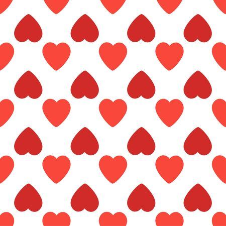 seamless pattern with hearts. Valentines Day background