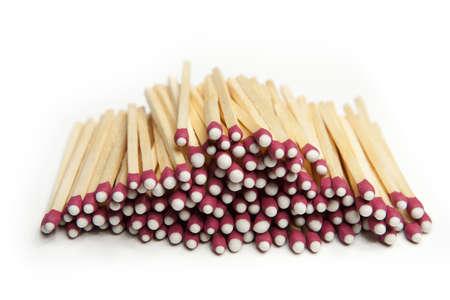 Pile of Match Sticks Stock fotó