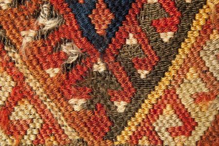 Turkish rug tapestry close up Фото со стока