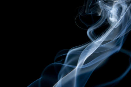 wisp: White Smoke Diagonal on Black Background