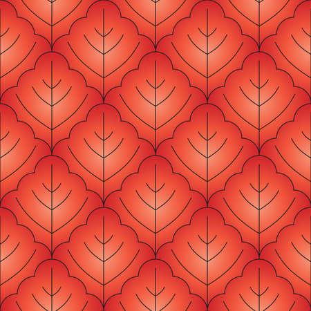 Vector arbre forme homogène wallpaper Banque d'images - 4731134