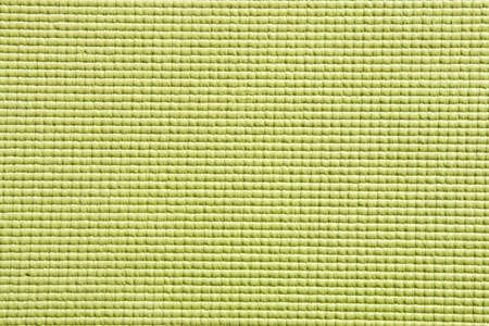 Detail view of yoga mat surface and texture in green Stock Photo