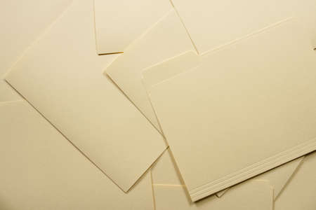 Messy pile of file folders Stock Photo - 5206859
