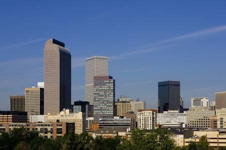 Denver Skyline Stock Photo - 5313534