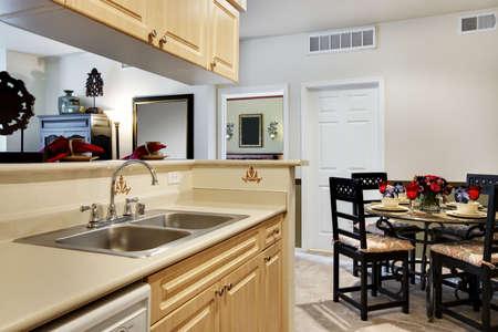 kitchen: Small apartment kitchen