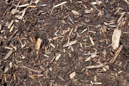 bark mulch: Landscaping Mulch Stock Photo