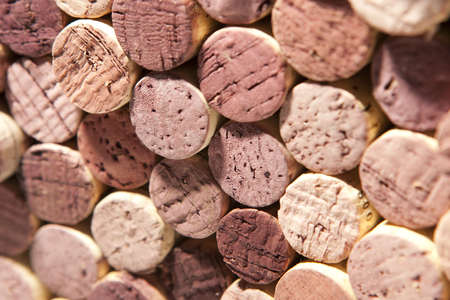 varying: Red Wine Corks of Varying Color