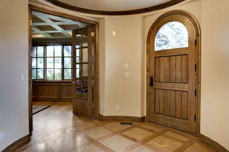 Elegante Foyer Home Archivio Fotografico - 5597807