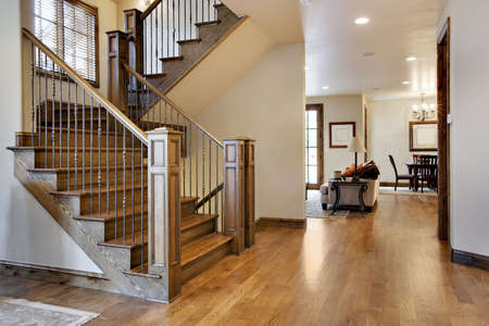 realty residence: Wood Floored Home Entrance and Hall