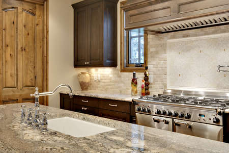 Kitchen Sink and Cooking Area Close Up