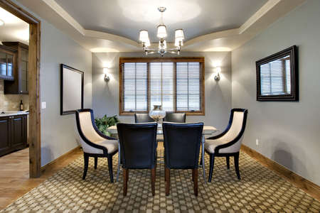 Contemporary Dining Room Stock Photo - 5614877