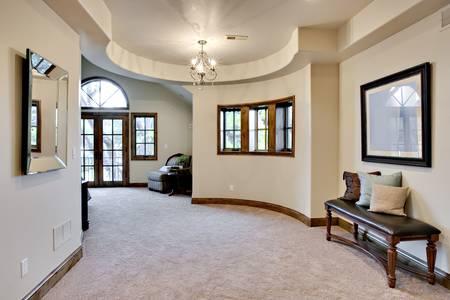 Bedroom Hallway Standard-Bild