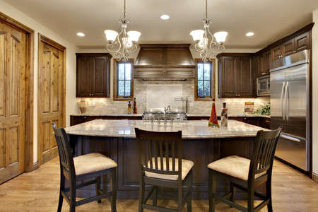 Elegant Upscale Kitchen Stock Photo - 5614881