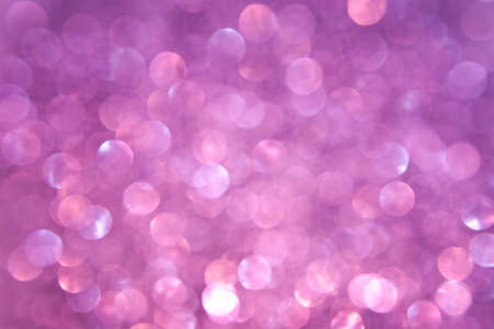 Purple and Pink Sparkling Lights Stock Photo