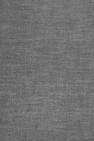 灰色の布製ブックカバー 写真素材
