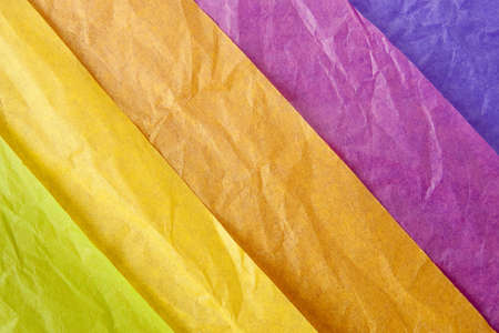 Layers of Tissue Paper Wrapping