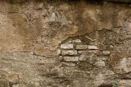Historisch Mortel Brick Wall Stockfoto - 5886979