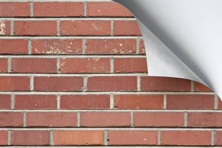 Paper Corner Curl Stock Photo - 6157599