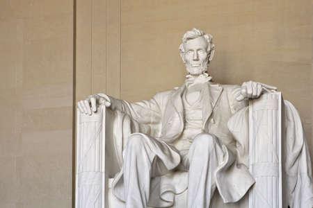 dc: Abraham Lincoln Memorial in lavatrice ma Stati Uniti
