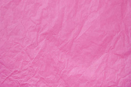 Pink Tissue Paper. Focus across entire surface Фото со стока