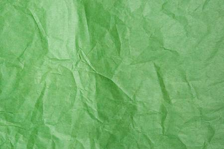 Greeb Tissue Paper Texture Closeup. Focus evenly across surface.