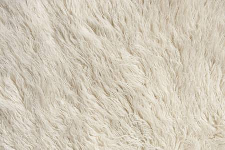 Wool Rug Fiber Close Up. Focus across entire surface