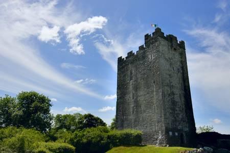 ダイサート ・ オデイ城。西海岸の共和国のアイルランド。 写真素材