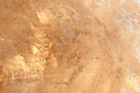 Worn Copper Surface with dents and scratches Stock Photo - 7320971