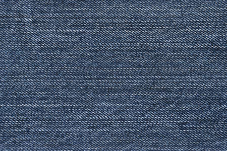 Vivid blue denim texture. Focus across entire surface