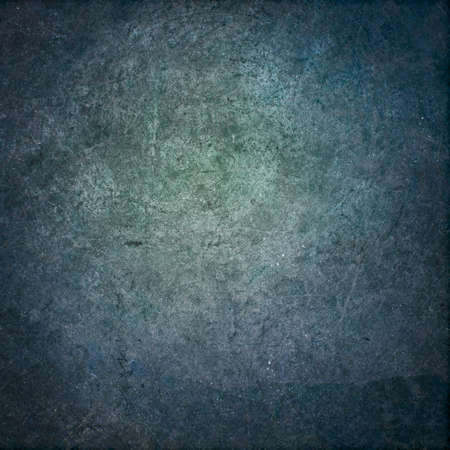 Highly textured blue green grunge background texture Archivio Fotografico