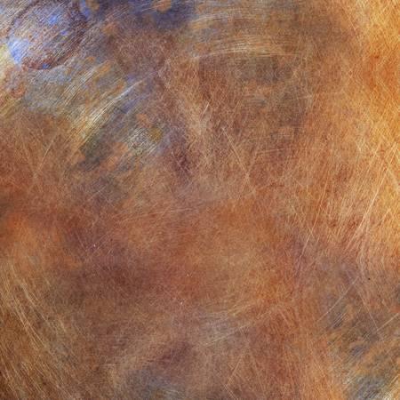 Grunge orange metal photo