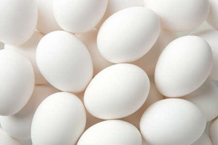鶏の卵は完全なフレームを背景