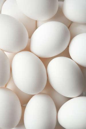 chicken egg: Chicken egg background full frame Stock Photo