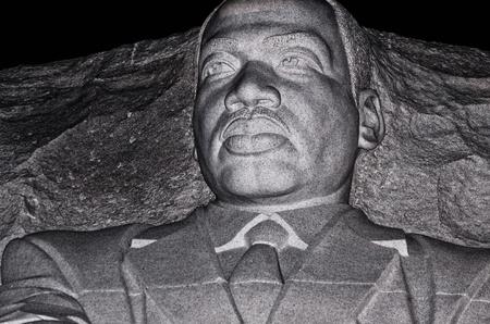 Martin Luther King, Jr  Memorial, Washington DC, August 10, 2013  Редакционное