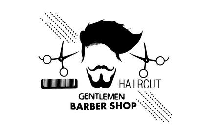 Gentlemen Barbershop icon.