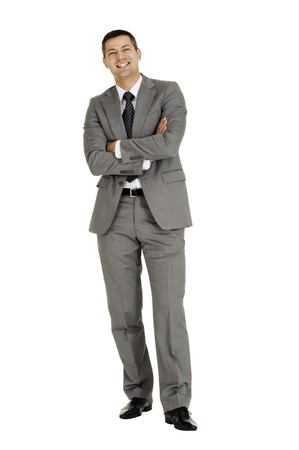 businessman with arms folded Stock Photo - 8222636