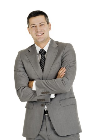 businessman with arms folded Stock Photo - 8222708