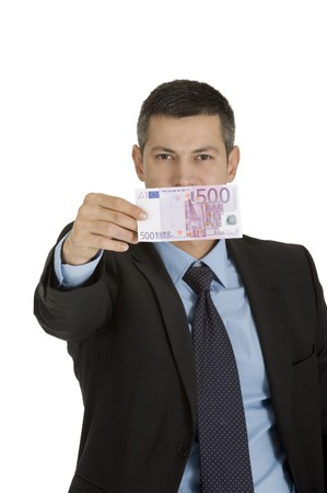businessman with money Stock Photo - 8222674
